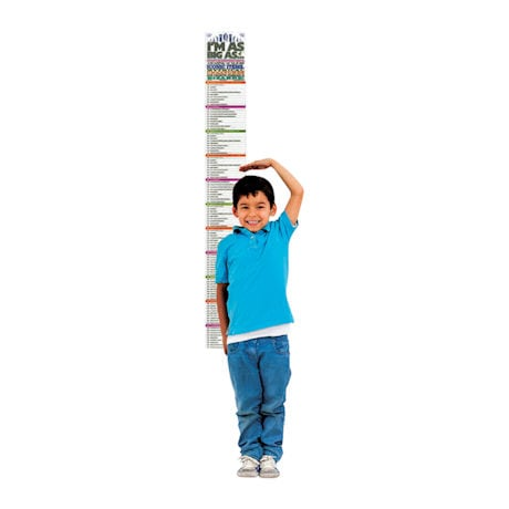 I'm As Big As… Growth Chart