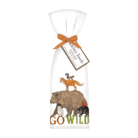 Go Wild Tea Towel Set