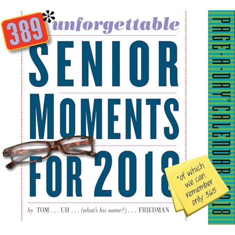 2018 389 Unforgettable Senior Moments Page-a-Day Calendar
