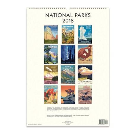 2018 National Parks Calendar