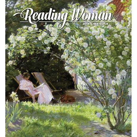 2018 Reading Woman Wall Calendar