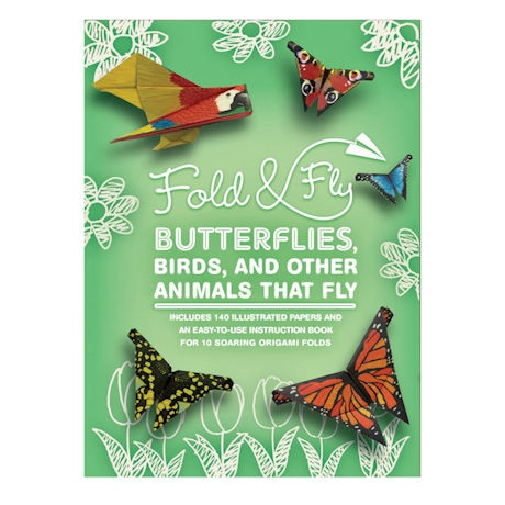 Fold and Fly Butterflies, Birds, and Other Animals