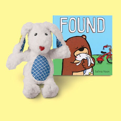 Found Plush Bunny
