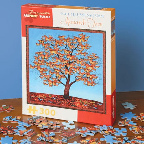 Monarch Tree Puzzle