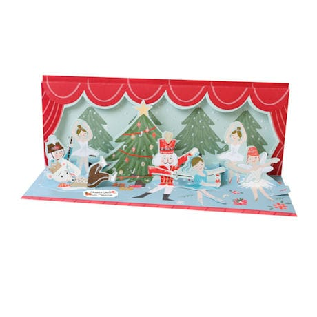 Musical Pop-Up Nutcracker Card