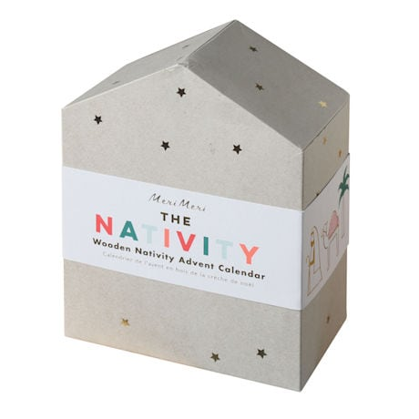 Nativity Wooden Advent Calendar