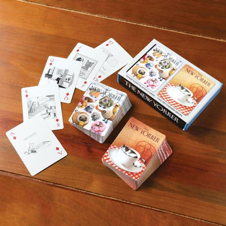 New Yorker Pet Cartoon Playing Cards