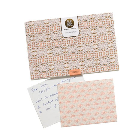 Scented Papers: Peppermint and Sea Salt (pink)