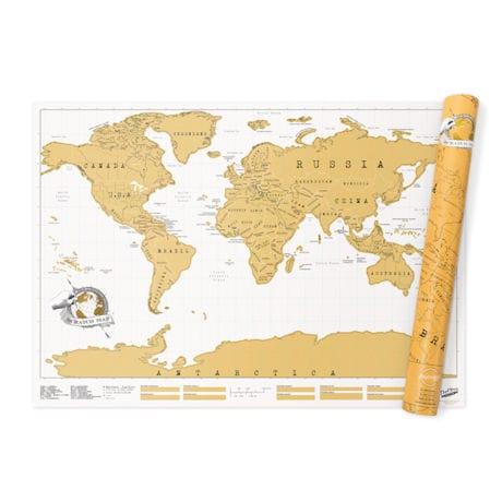 Scratch-Off World Map