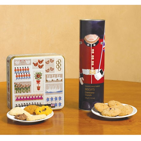 Twelve Days of Christmas Butter Biscuit Tin