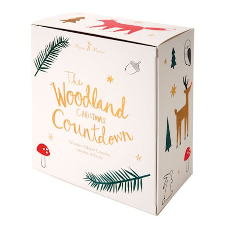 Woodland Christmas Countdown