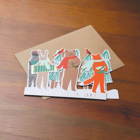 Woodland Band Concertina Cards