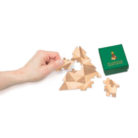You Complete Me Christmas Tree Mini Puzzle