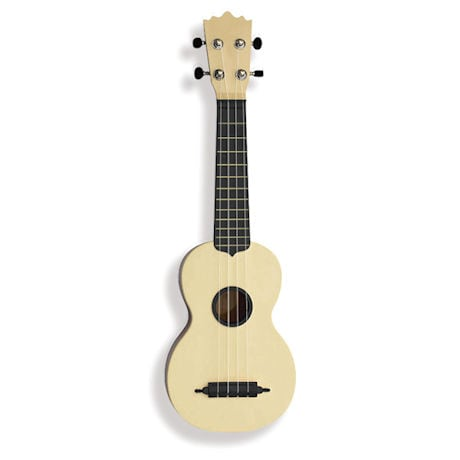 Black-and-Ivory Ukulele