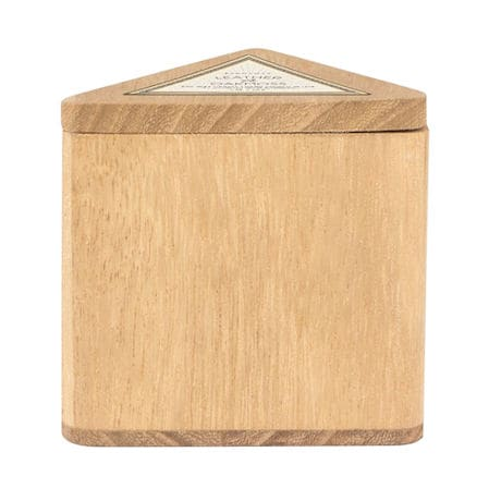 Leather and Oakmoss Wood-Box Candle