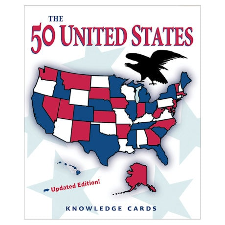 50 United States Knowledge Cards