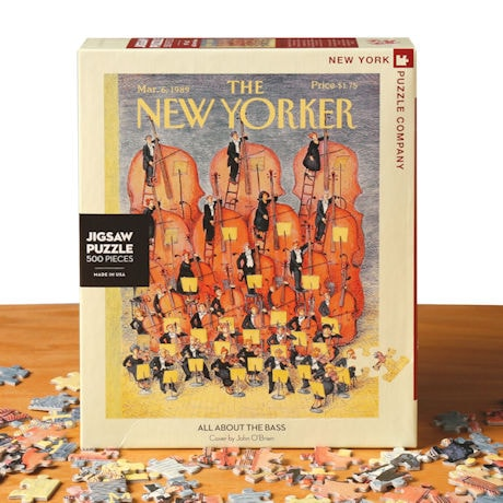 &#8220;All About the Bass&#8221; <i>New Yorker</i> Puzzle
