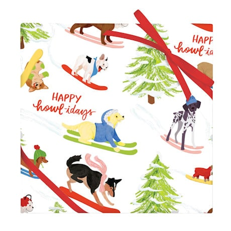 Dogs Gift Wrap