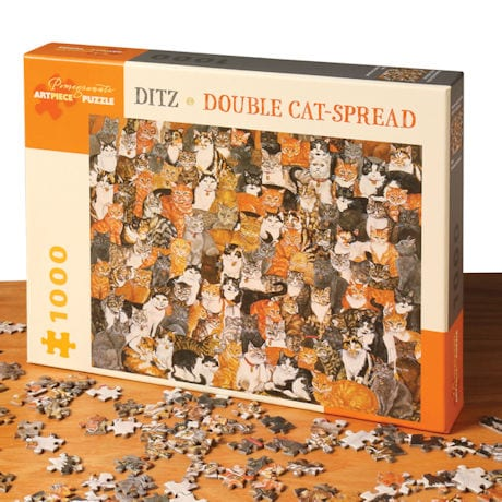 Double Cat-Spread Puzzle