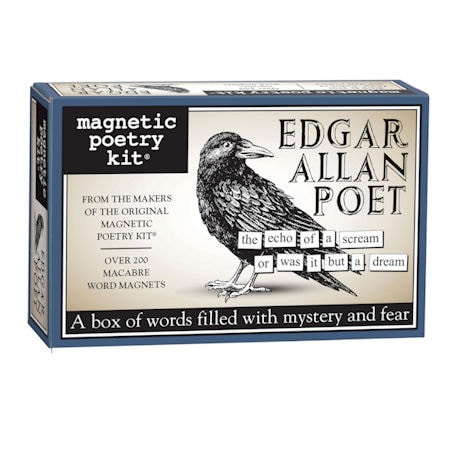 Edgar Allan Poet Magnetic Poetry Kit