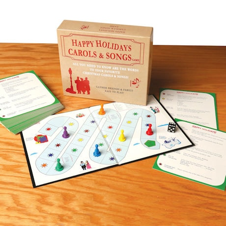 Happy Holidays Carols and Songs Game
