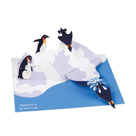 Sabuda Penguins Pop-Up Greeting Cards