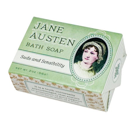 Jane Austen Suds and Sensibility Soaps (set 3)