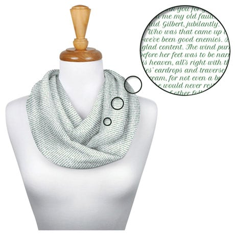 Litographs Scarves: Anne of Green Gables