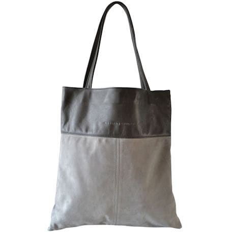 Luxe Book Bag: Gray