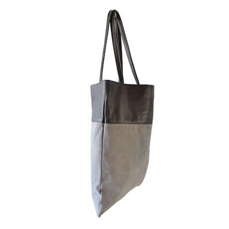 Luxe Book Bag: Gray