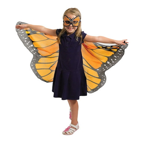 Monarch Butterfly Wings and Mask