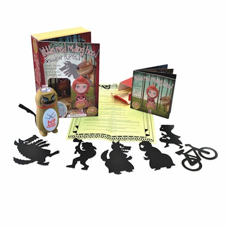 Little Red Riding Hood Shadow Puppets Set