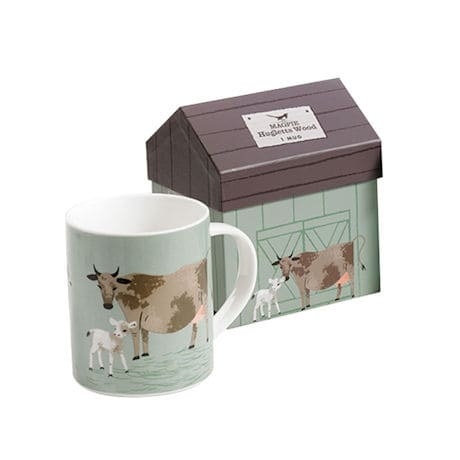 Mug in a Barn: Cow