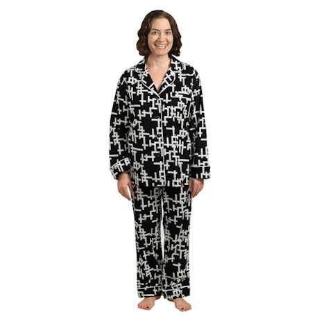 Word Play Flannel PJs