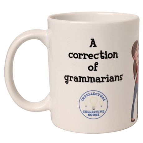 Intellectual Collective Noun Mugs: A Correction of Grammarians