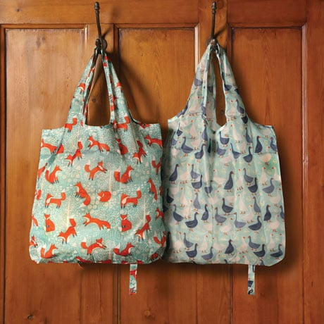 Fox Packable Reusable Tote