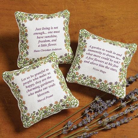 Literary Gardener Lavender Sachet Set