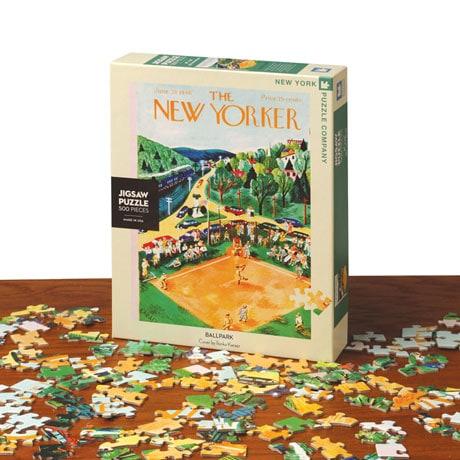 <i>The New Yorker</i> Ballpark Puzzle