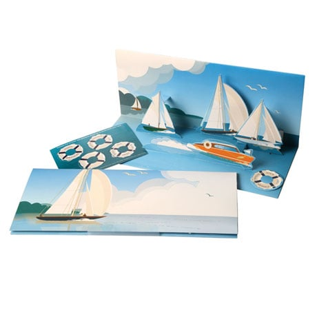 Sailing Sound and Pop-Up Greeting Card
