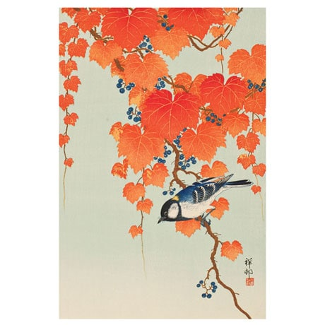 Shoson Birds and Flower Note Cards