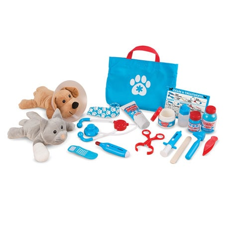 Pet Vet Book and Playset