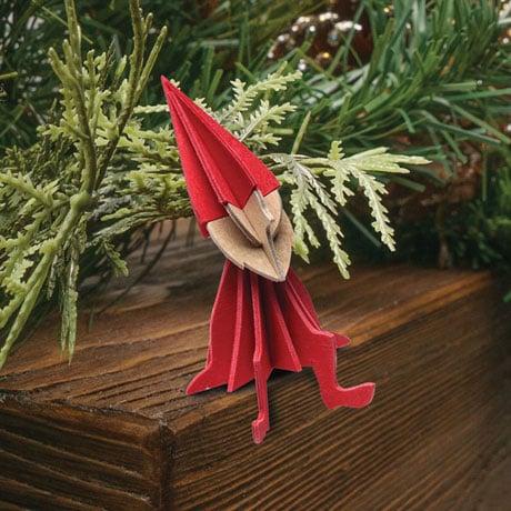 Wooden Elf Postcard