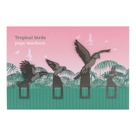 Tropical Birds Page Markers