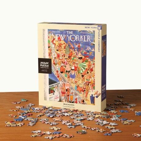 Beachgoing New Yorker Puzzle