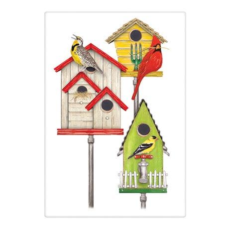 Birdhouse Tea Towel