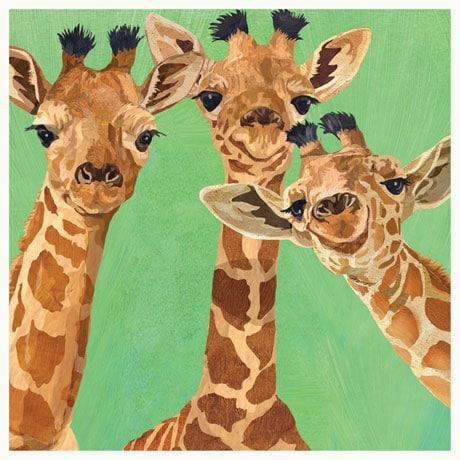 Amigos - Giraffe Napkins