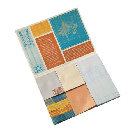 """Frank Lloyd Wright """"Nature and Form"""" Sticky Notes"""