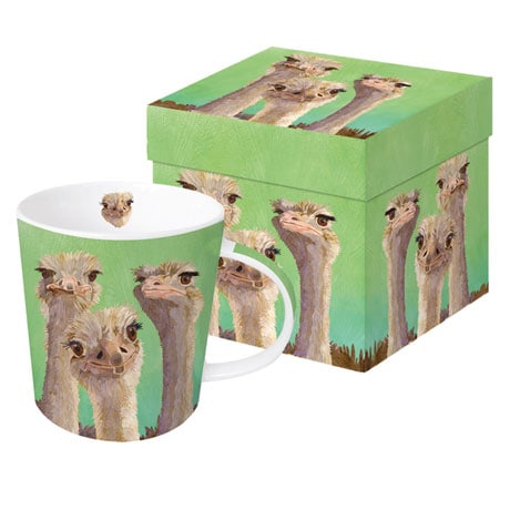Amigos - Ostrich Mug