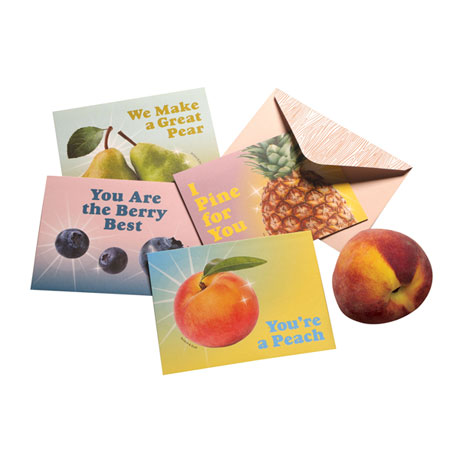 You're a Peach: Scratch and Sniff Note Cards