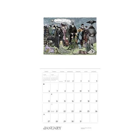 2019 Edward Gorey Wall Calendar